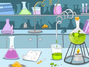 эксперимент в лаборатории